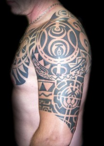 The Rock Tribal Tattoo Pictures