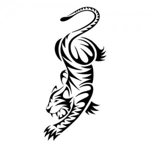 Tiger Tattoo Tribal