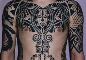 Traditional African Tribal Tattoos