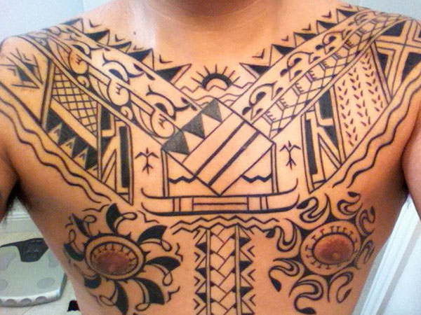 12 awesome traditional tribal tattoos only tribal. Black Bedroom Furniture Sets. Home Design Ideas