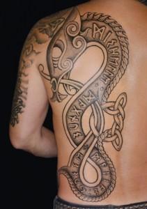 Traditional German Tribal Tattoos