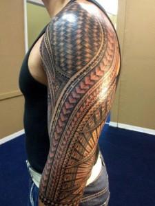 Traditional Samoan Tribal Tattoos