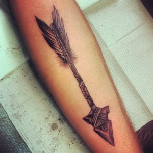Tribal Arrow Tattoo
