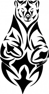 Tribal Bear Tattoo Ideas