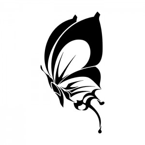 Tribal Butterfly Tattoo Designs
