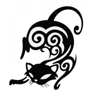 Tribal Cat Tattoos