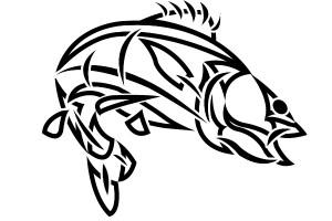 Tribal Fish Tattoo