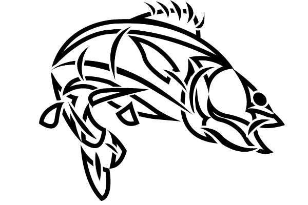 Tribal Fish Tattoo