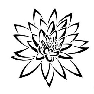 Lily Back Tattoo Designs