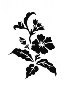 Tribal Flowers Tattoos
