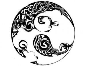 Tribal Full Moon Tattoos