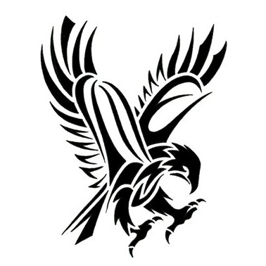 tribal hawk tattoo only tribal harley davidson logo stencil free harley davidson logo outline stencil
