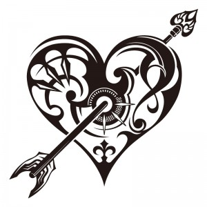 Tribal Heart Tattoos