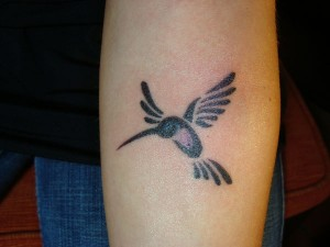 Tribal Hummingbird Tattoos