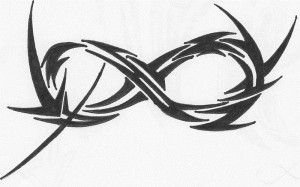 Tribal Infinity Tattoo Images