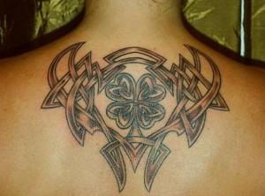Tribal Irish Tattoo