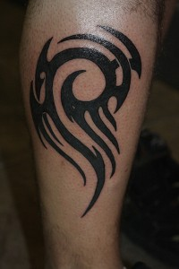 Tribal Leg Tattoo Designs
