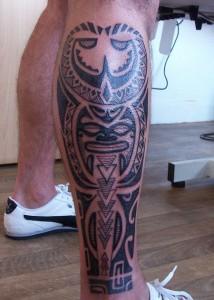 Tribal Leg Tattoos