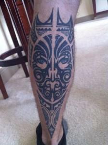 Tribal Leg Tattoos for Men