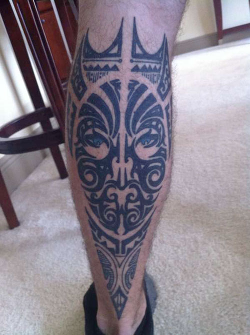 26 fascinating tribal leg tattoos only tribal