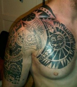 Tribal Maori Tattoo