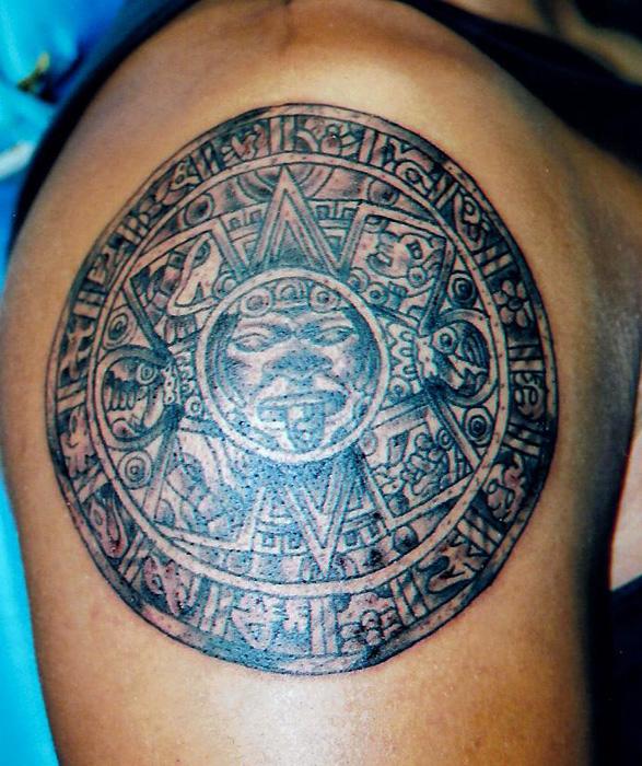 12 Magnificent Mayan Tribal Tattoos