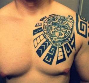 Tribal Mayan Tattoos