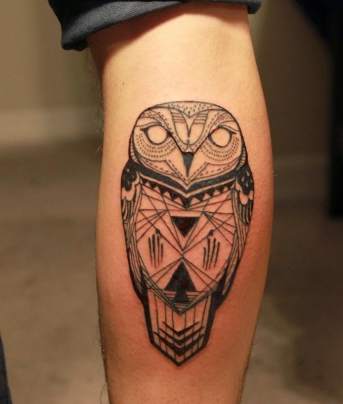 11 beautiful tribal owl tattoo only tribal rh onlytribal com tribal owl tattoo on back tribal owl tattoo ideas
