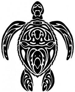 Tribal Sea Turtle Tattoo Designs