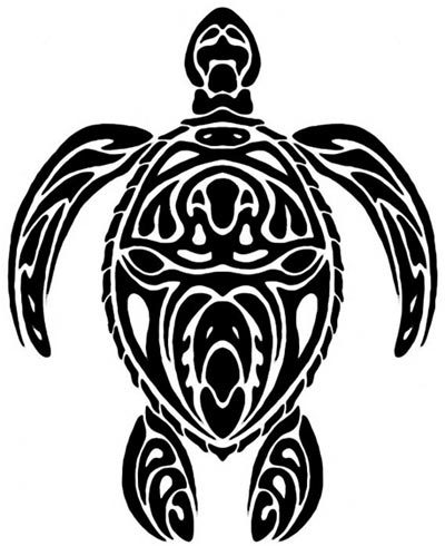 7 Beautiful Tribal Sea Turtle Tattoo | Only Tribal