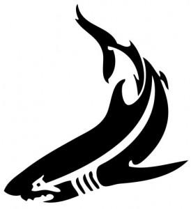 Tribal Shark Tattoo Designs