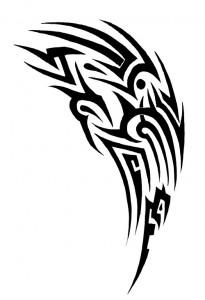Tribal Shoulder Tattoos Designs