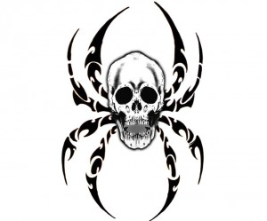 Tribal Skull Tattoo Images