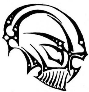 Tribal Skull Tattoos Design
