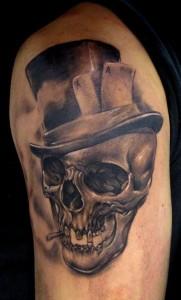 Tribal Skull Tattoos for Men