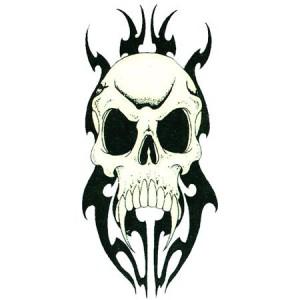 Tribal Skulls Tattoos