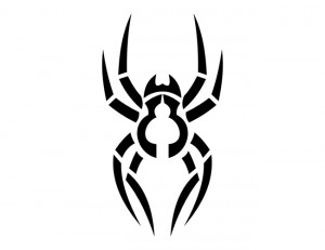 Tribal Spider Tattoo Designs
