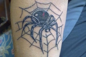 Tribal Spider Web Tattoo Designs