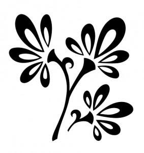 Tribal Tattoo Flowers