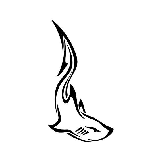 15 Awesome Tribal Shark Tattoos