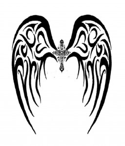 Tribal Tattoo Wings
