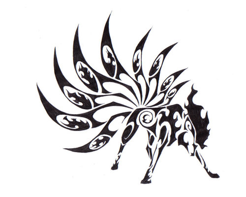 16 Cool Tribal Animal Tattoos Only Tribal