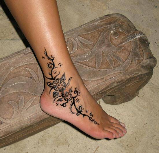 15 beautiful tribal ankle tattoos only tribal. Black Bedroom Furniture Sets. Home Design Ideas