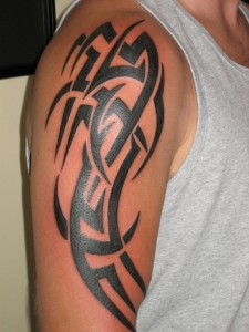 Tribal Tattoos Half Sleeves