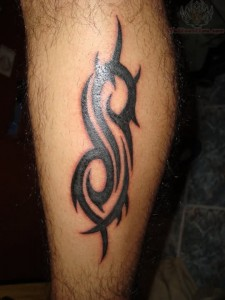 Tribal Tattoos Legs