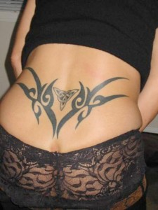 Tribal Tattoos Lower Back
