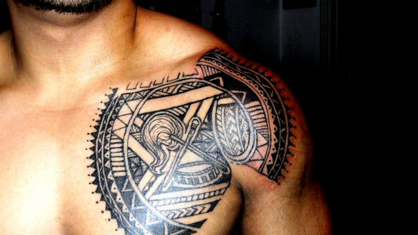 12 lovely samoan tribal tattoos only tribal. Black Bedroom Furniture Sets. Home Design Ideas