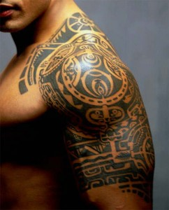 Tribal Tattoos The Rock