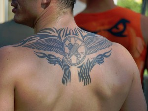 Tribal Tattoos Wings