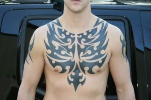 Tribal Tattoos for Men Chest